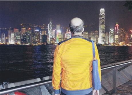 Scott in Hong Kong
