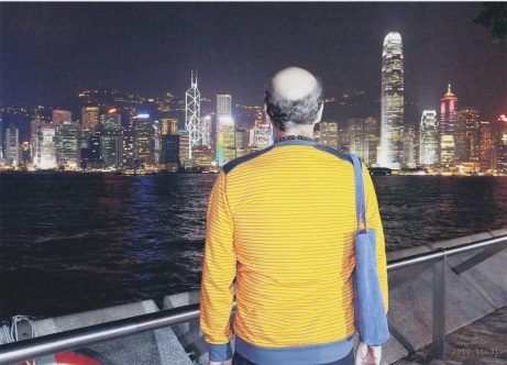Scott in Hong Kong