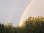 Double Rainbows Stonington Maine