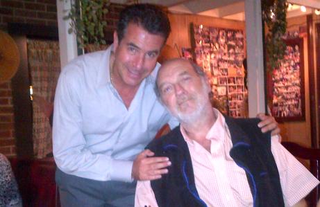 Roberto Besquin and Scott Morgan in October 2012 before going to goa.
