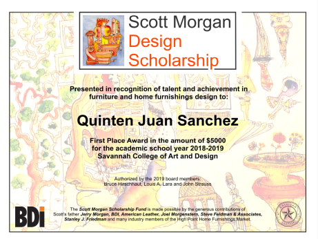 first place 2019 scholarship winner | going to goa
